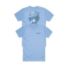 Simms The LDR T-Shirt - Light Blue Heather L