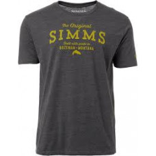 The Original T-Shirt - Charcoal Heather L футболка Simms