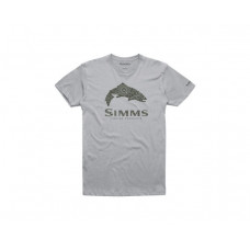 Trout Reel Fill T-Shirt Silver M футболка Simms