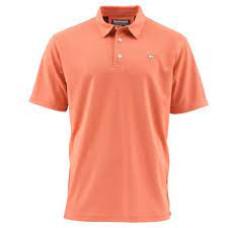 Simms Polo Shirt - UPF 50+ Sunrise  L