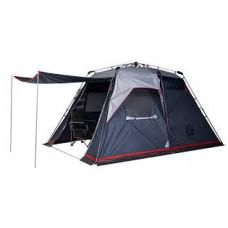 Палатка кемпинговая FHM Polaris 4 Синий/Серый