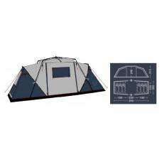 Палатка кемпинговая FHM Sirius 6 Синий/Серый