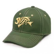 Contrast Stitch Baseball Cap  Forest Green  кепка G.Loomis