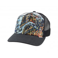 Simms Artist Trucker Hat  Black