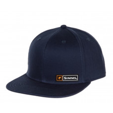Bass Logo Lockup Baseball Cap Admiral Blue кепка Simms