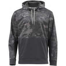 Simms Challenger Hoodie  Hex Camo Carbon M