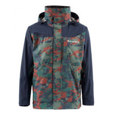 Simms Challenger Jacket Hex Flo Camo Rusty Red  XL