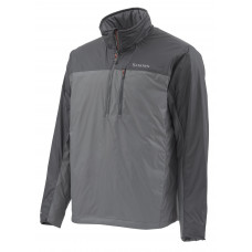Simms Midstream Jacket - Insulated Zip Neck Anvil M