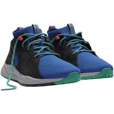Columbia Sportswear SH/FT OutDry Mid Hiking Shoes 9 - Waterproof Lapis Blue Emerald