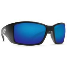 Costa Blackfin Sunglasses - Polarized Mirror 400G Matte Black