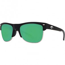 Pawleys Matte Black Green Mirror 580G очки CostaDelMar