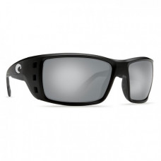 Costa Permit Sunglasses - Polarized 580P Lenses Black/Silver