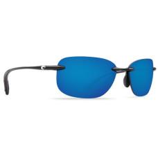 Costa Seagrove Sunglasses - Polarized 580P Mirror Lenses  Blue Mirror/Shiny Black