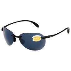 Costa West Bay Sunglasses 580P Gray/Shiny Black