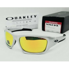 Oakley Valve Sunglasses Polarized Silver/Fire Iridium