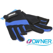 Owner Fishing Glove L Blue