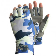 Ascension Bay Sun Gloves - UPF 50+ Blue Camo M перчатки Glacier Gloves