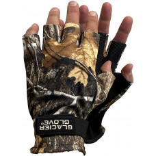 Glacier Glove Fleece Gloves M - Fingerless, Neoprene Palm