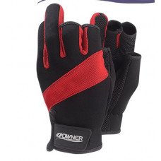 Fishing Glove L Red Перчатки Owner