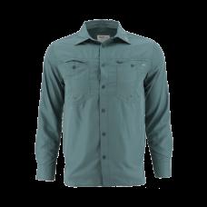 Gillz Elite Angler Shirt - UPF 50 Goblin Blue L рубашка  Gillz