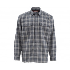 Simms ColdWeather Shirt Black Plaid L