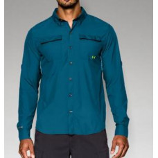 Iso-Chill Flats Guide Shirt - UPF 30+  L Main рубашка Under Armour