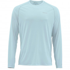 Simms Solarflex Solid Shirt - UPF 50+ Wintergreen XL