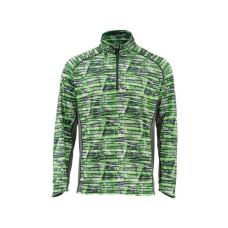 Solarflex T-Shirt - Zip Neck UPF 50+ Water Print Lawn L блуза Simms