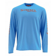 Simms Tech Tee Cornflower Blue S