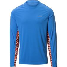 Solarflex Crewneck DeYoung Trout Harbour Blue L блуза Simms