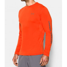Fish Hunter Tech HeatGear Shirt - UPF 30 L Dark Orange блуза Under Armour