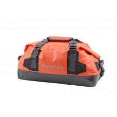 Simms Dry Creek Duffel Bag S Bright Orange