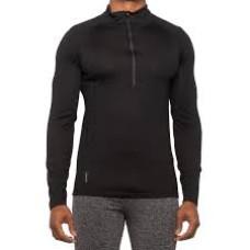 Craghoppers Zip-Neck Base Layer Top - Merino Wool Black L