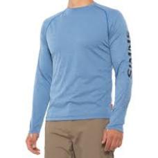 Simms Lightweight Core Shirt Rich Blue L